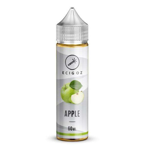Nicotine Vape Juice with an Apple taste supplied to Australia
