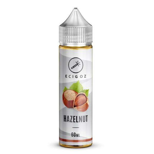 Nicotine E Liquid with Hazelnut taste supplied to Australia