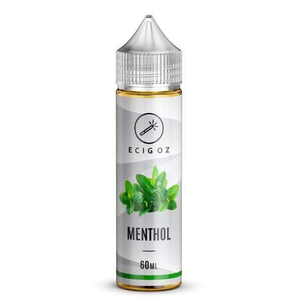 Nicotine e Liquid with Menthol taste supplied to Australia