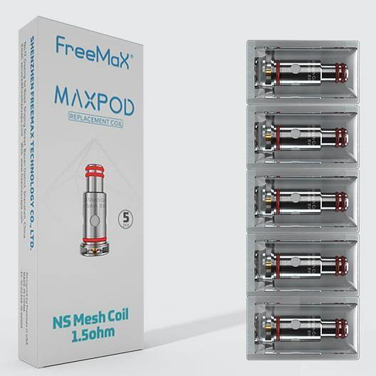 FreeMax - Maxpod Replacement Coils (5 Pack) - ECigOz