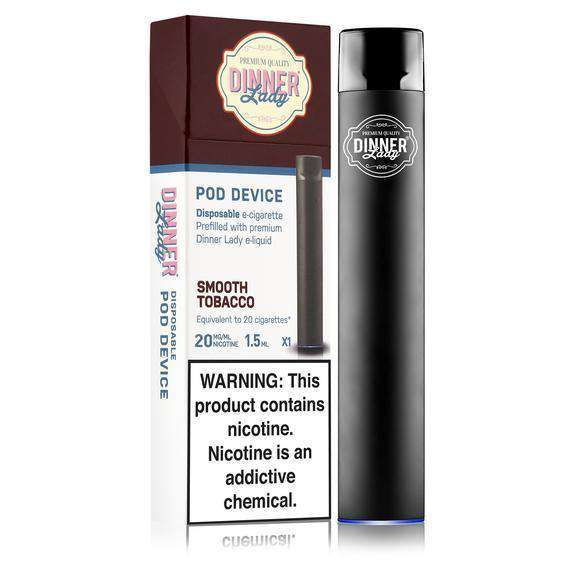 Dinner Lady Disposable Pod Device - Smooth Tobacco - ECigOz