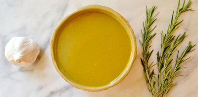 Rosemary & Roasted Garlic Bone Broth
