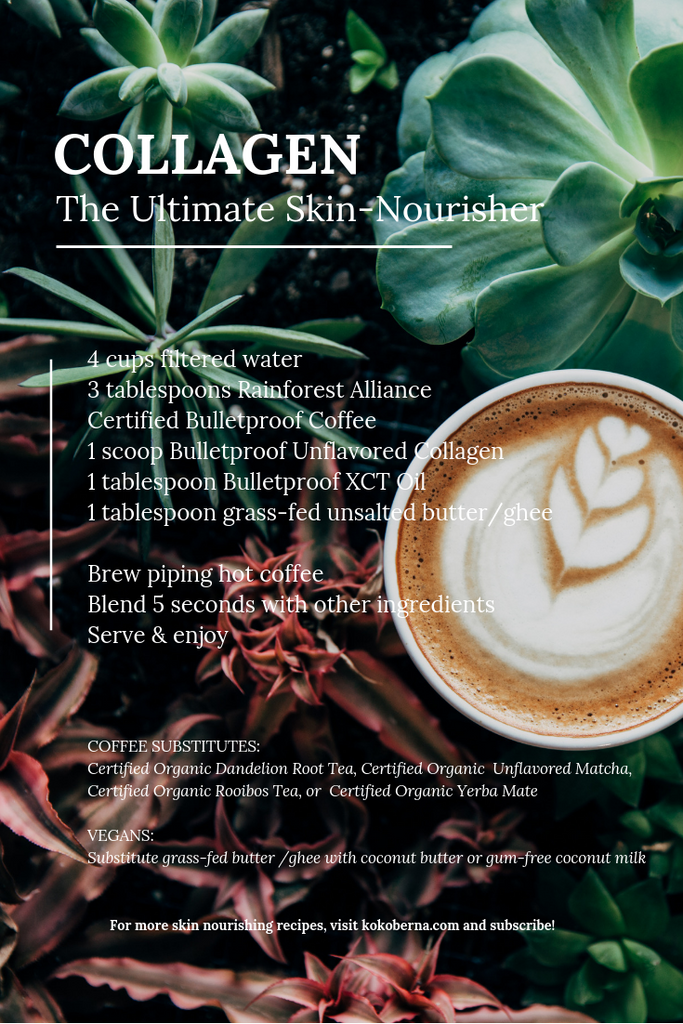 Bulletproof Coffee with Skin Nourishing Collagen