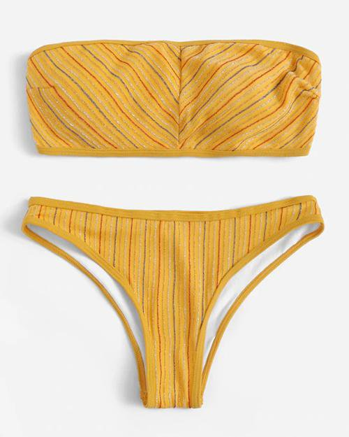 Magical Stripe Bikini Set