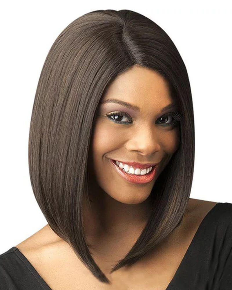 Central Parting Straight Short BOBO Wig