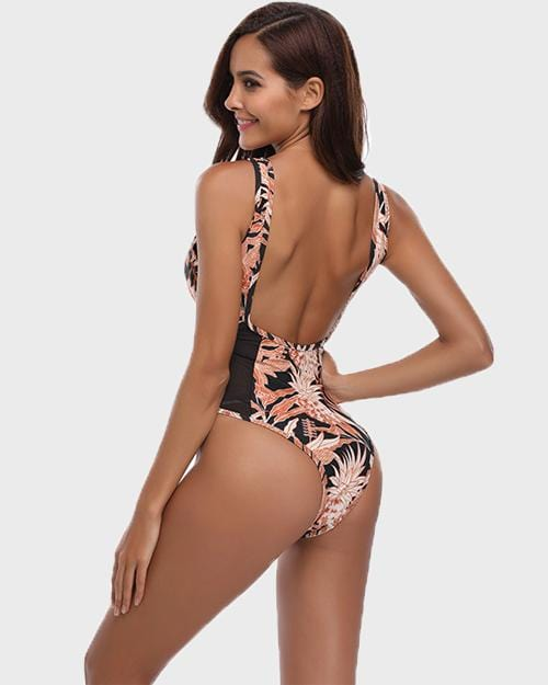 Fancy One-Piece Swimsuit