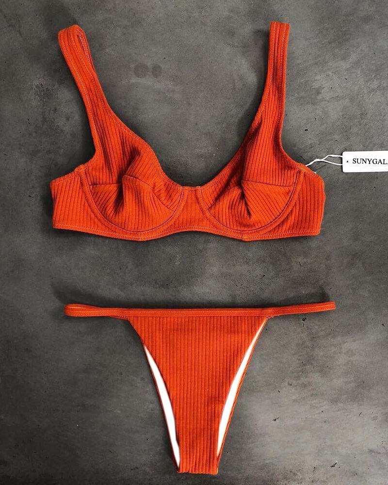 Quiet Perceptual Bikini Set
