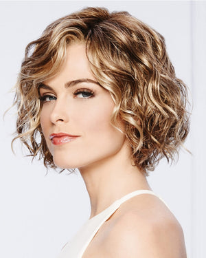 Fluffy Lace Short Curly Wig