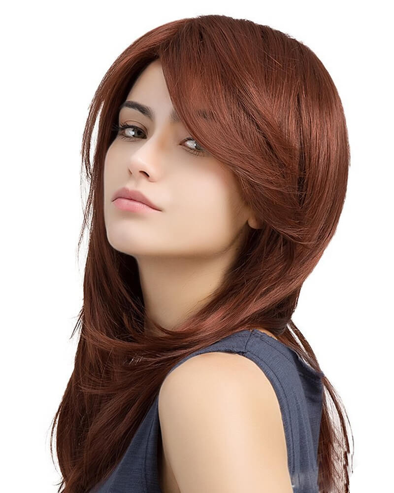 Natural Wave Long Synthetic Wigs
