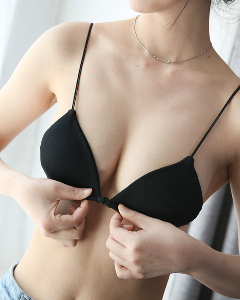 Triangle Cups Removable Padded Bra