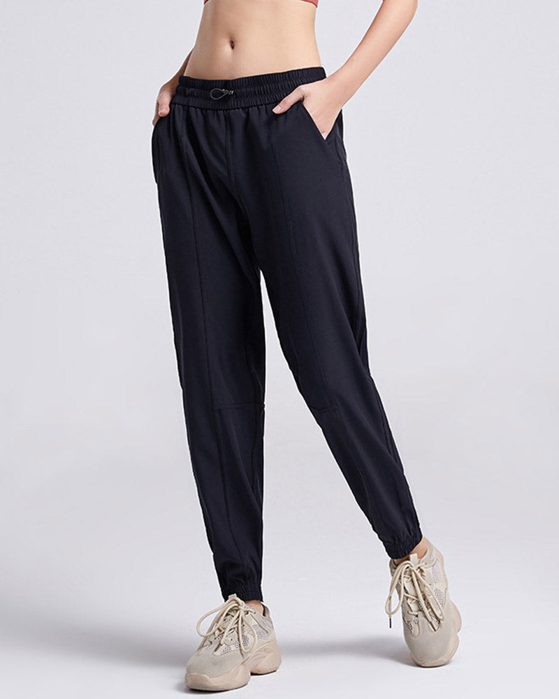 Lightweight Joggers Pants with Pockets Drawstring