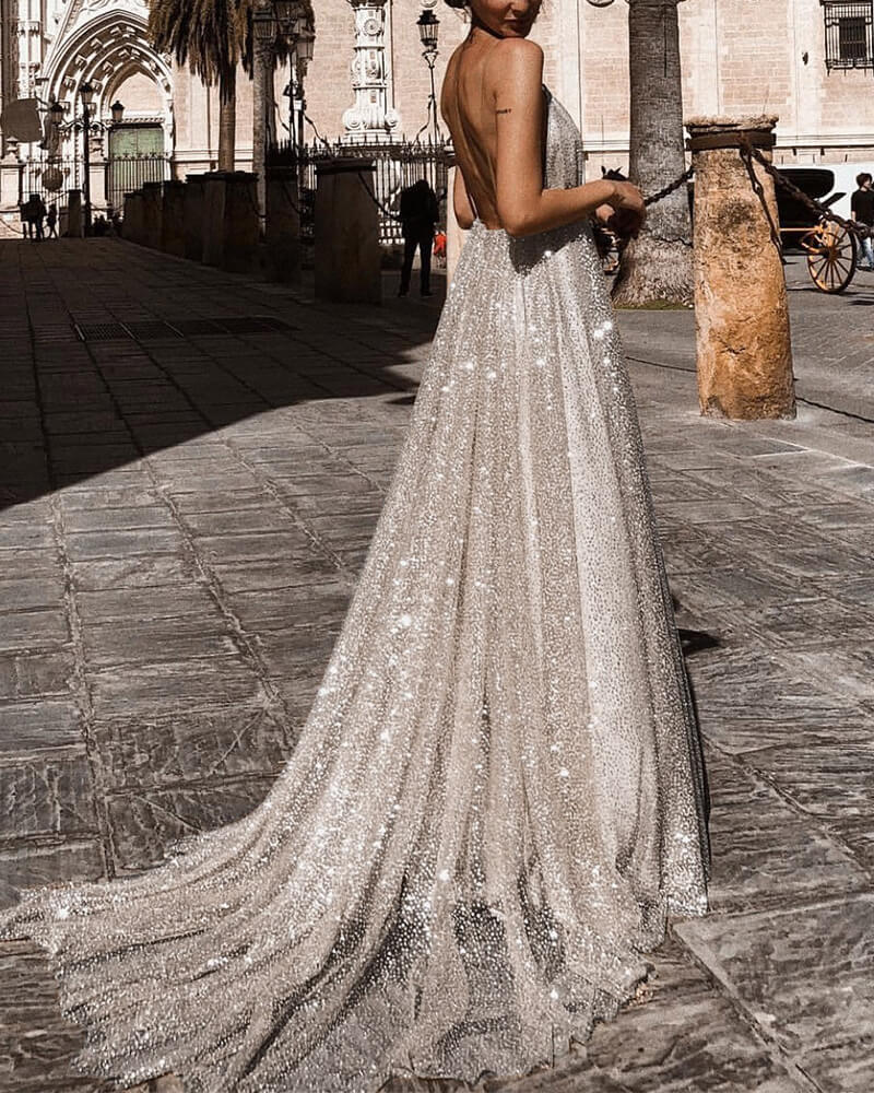 Lace Sleeveless Maxi Princess Dress