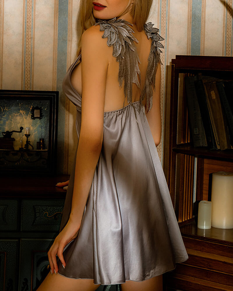 Wing Strap Nightgown
