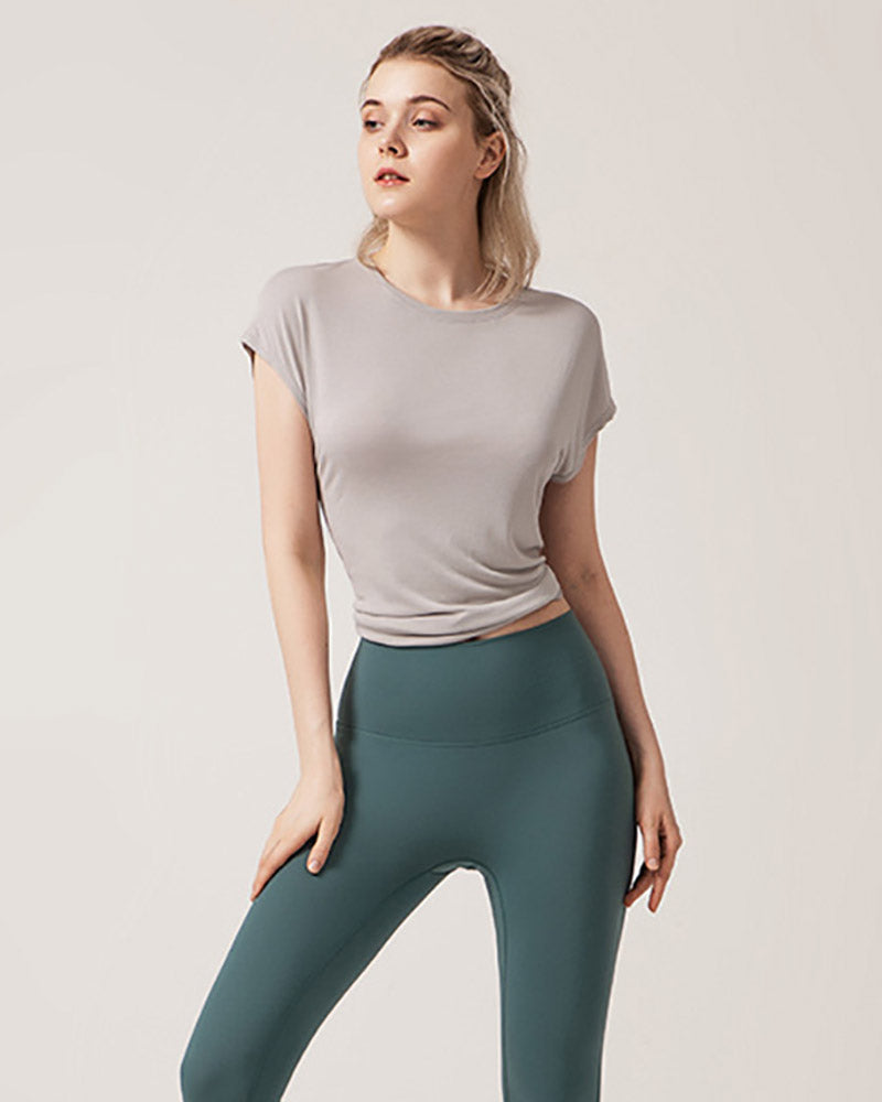 Quick Dry Workout Yoga Blouse