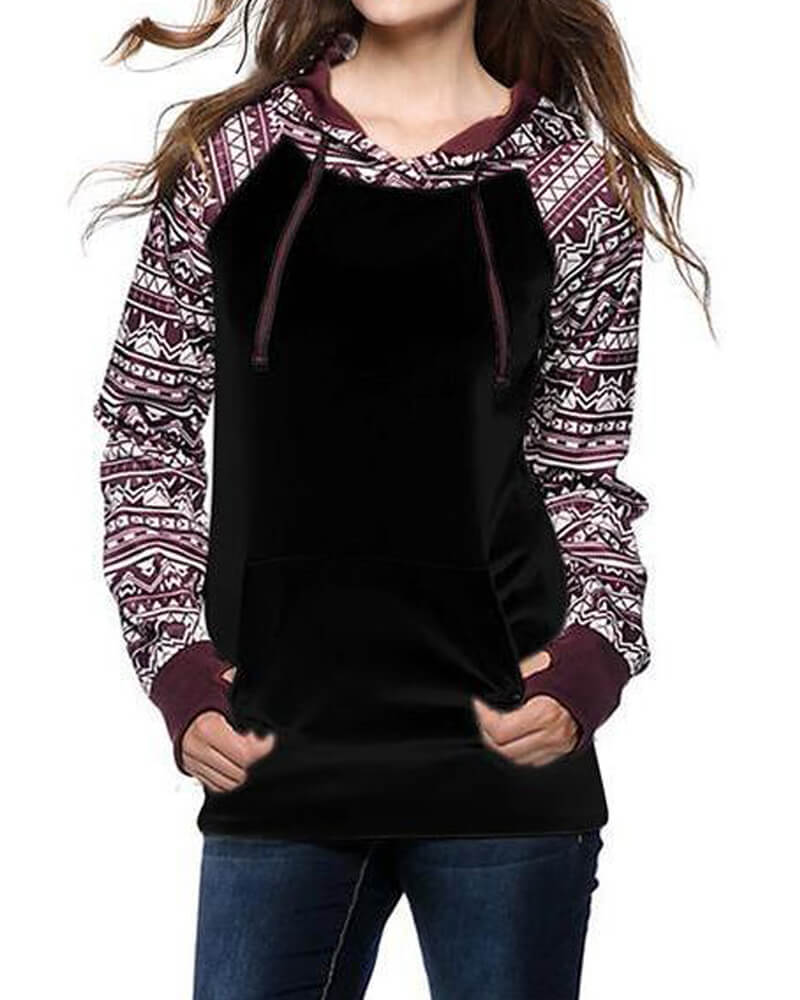 Youth Hooded Long Sleeve Sweatshirt
