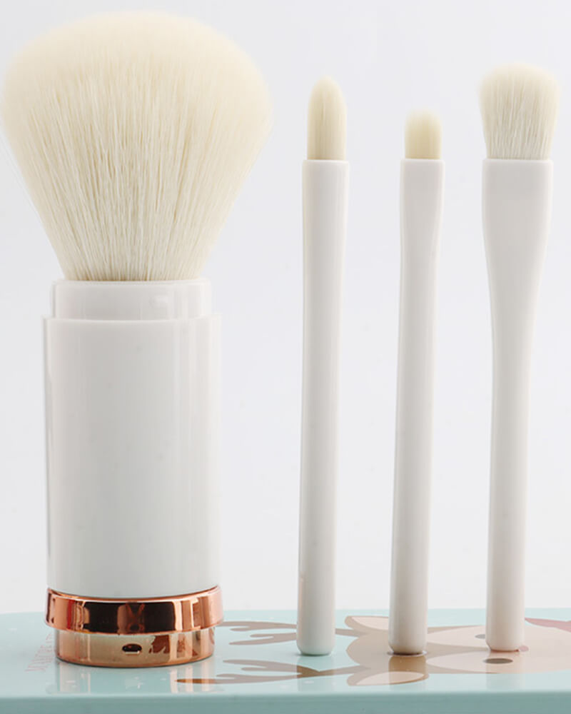 Retractable Eye Shadow Brush Set