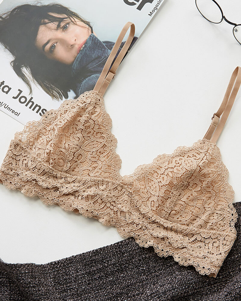 Soft Lined Lace Bra