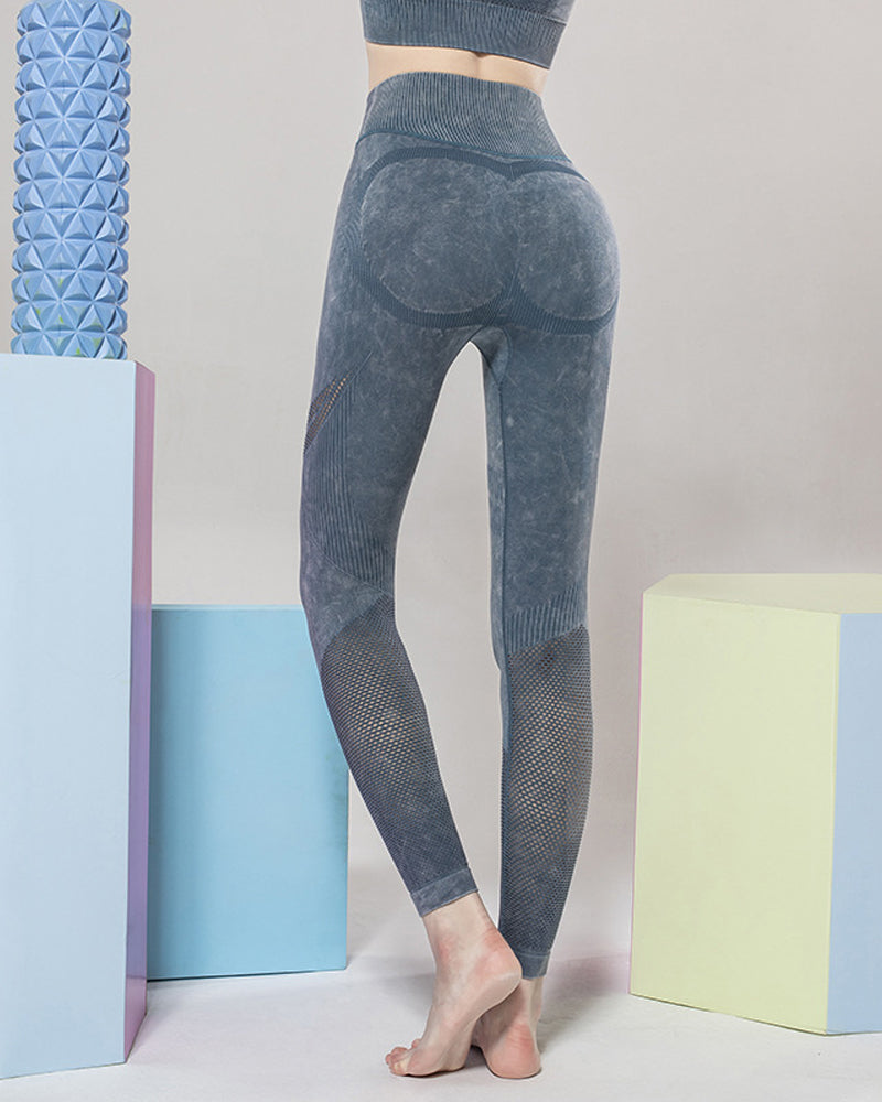 High Waisted Taille Mit Leggings