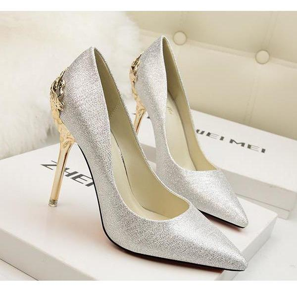 Sunygal Lambskin  Stiletto Heels