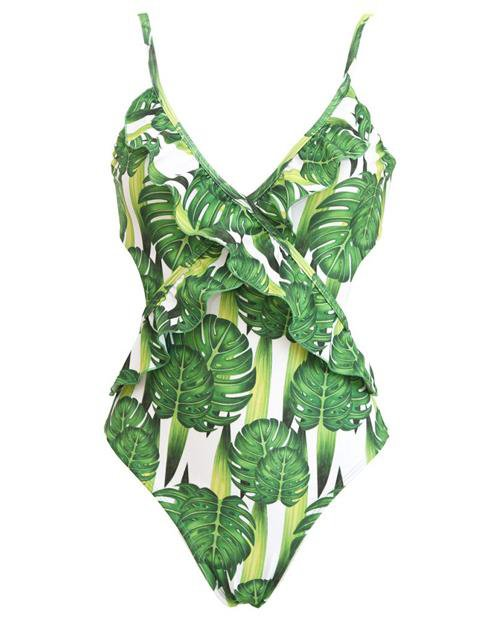 Sweet Falbala One-Piece Swimsuit
