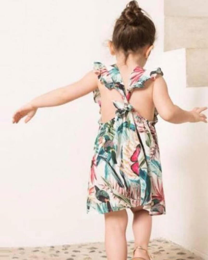 Plant Flowers Cute Matching Dress
