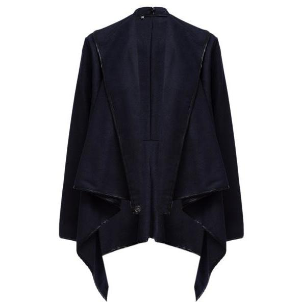 Sunygal Parka Irregular Trench Coat Cardigan Outwear 20% OFF + Free Shipping