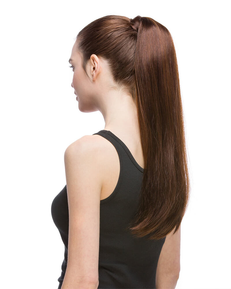 Straight Hair piece Synthetic Wig