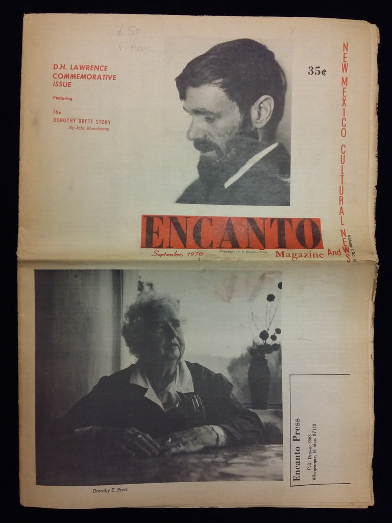 D.H. Lawrence Commemorative Issue. September 1970.