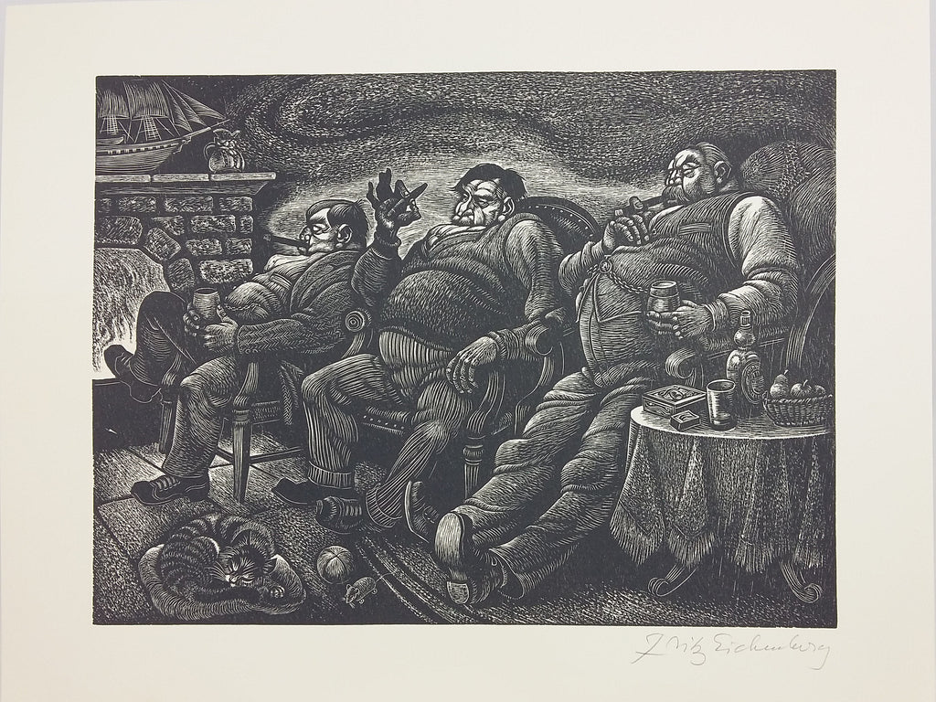 A Childs Christmas In Wales.A Child S Christmas In Wales Illustrated By Fritz Eichenberg