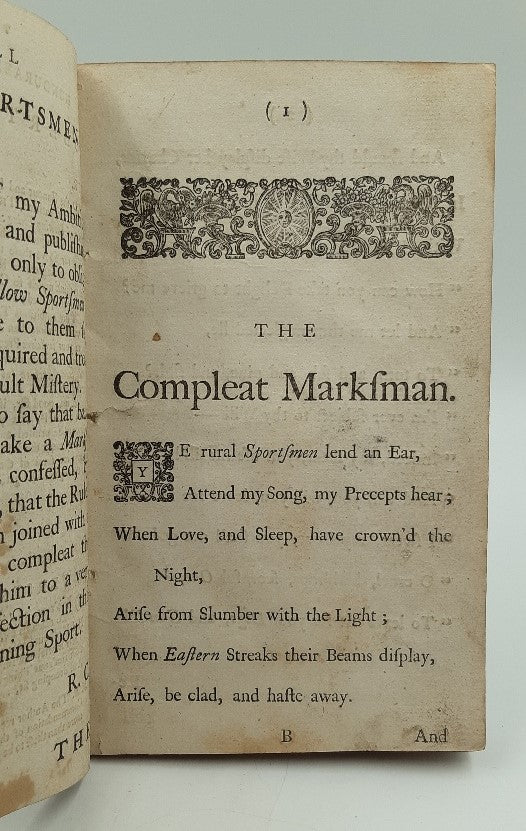 The Compleat Marksman: or The True Art of Shooting-Flying: A Poem