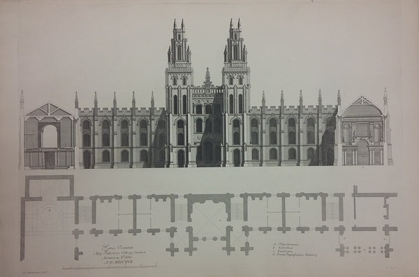 Architectural Designs for All Souls College Oxford