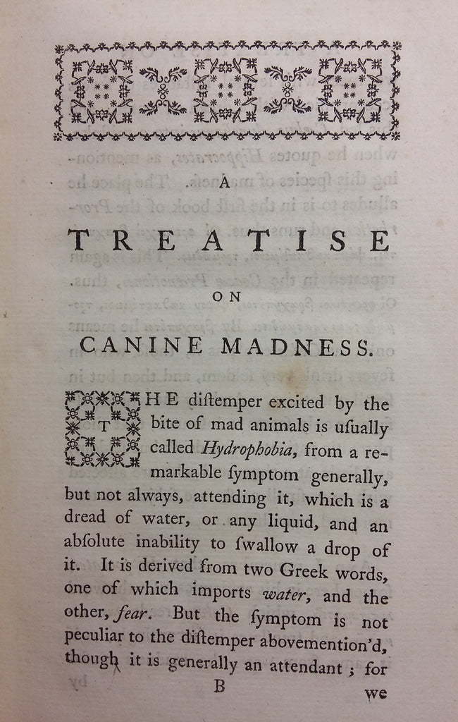 A Treatise on Canine Madness