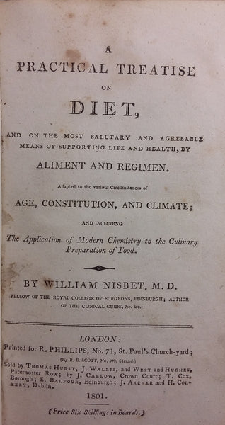 A Practical Treatise on Diet