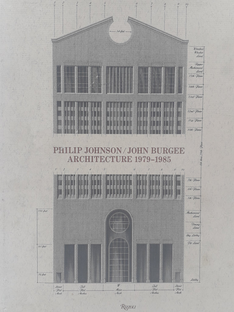 Philip Johnson/John Burgee. Architecture 1979-1985