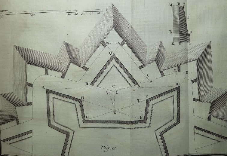 A Treatise containing the Practical Part of Fortification. In Four Parts.