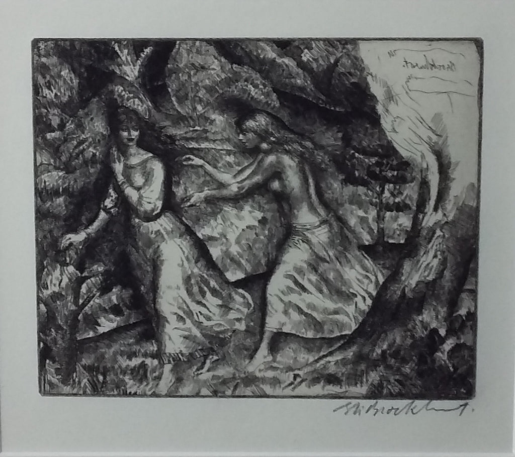 Etching (Untitled)
