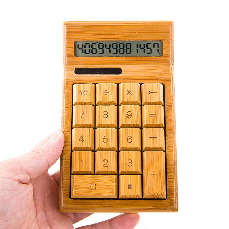 Bamboo Calculator - Www.EverythingWood.Store