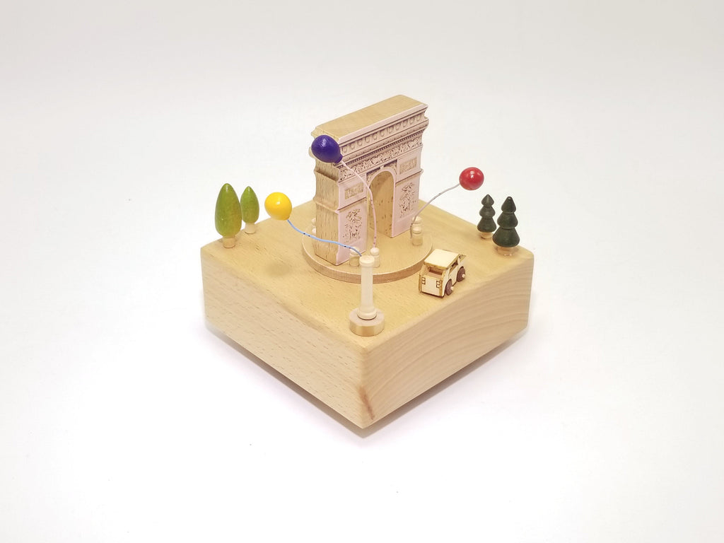 Customizable Wooden Music Box - EWS Custom Gifts - Everything Wood Store