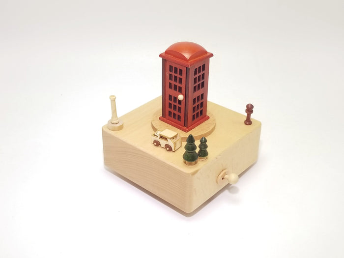 Customizable Wooden Music Box