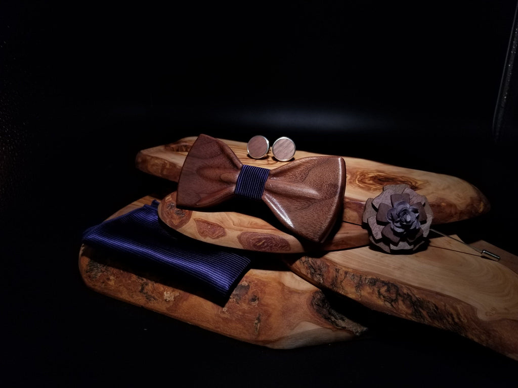 Wooden BowTie Suit Collection - EWS Custom Gifts - Everything Wood Store