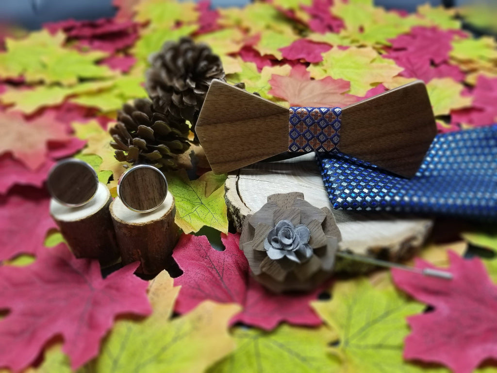 Wooden BowTie Fall Collection - EWS Custom Gifts - Everything Wood Store