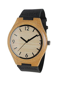 Bamboo 44mm Wooden Watch e10 - Www.EverythingWood.Store