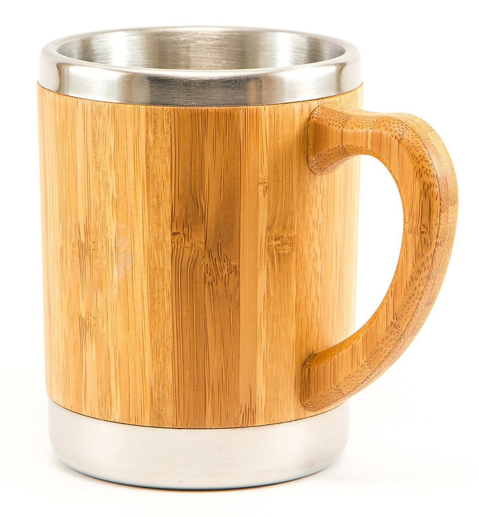 Bamboo and Stainless Steel Coffee Mug/Travel Tumbler - Www.EverythingWood.Store