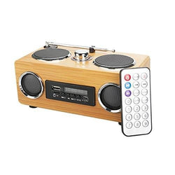 Handmade Bamboo Mp3 Player Radio - Www.EverythingWood.Store