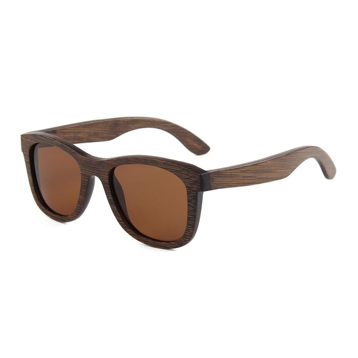 Walnut  frames with Brown polarized lens B 2006-2 - EWS Custom Gifts - Everything Wood Store