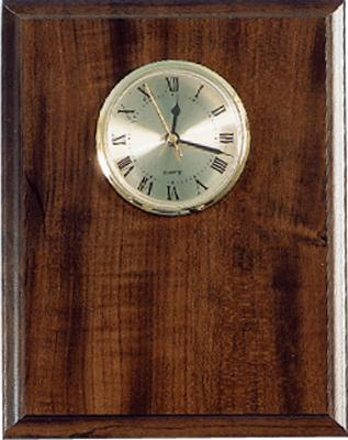 "Elegant Cherry Clock Plaque 8"" x 10"""