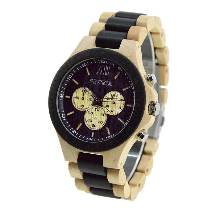 Wooden Luxury Watch-W116A new model - Www.EverythingWood.Store