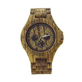 Bewell ZS - W116b Luxury Wooden Watch Men Quartz - Www.EverythingWood.Store