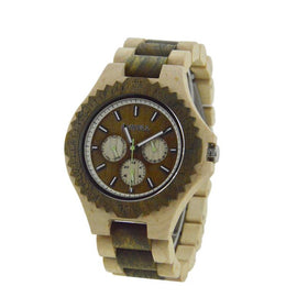 Bewell ZS - W116b Luxury Wooden Watch Men Quartz