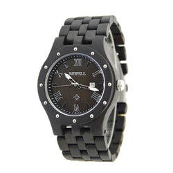 Elegant Lux Wood Watch For Men Design Luxury Style - Www.EverythingWood.Store